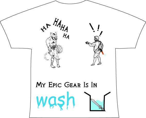 Contest Entry #                                        65                                      for                                         Gaming theme t-shirt design wanted – Epic Gear
