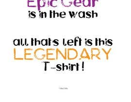 #14 for Gaming theme t-shirt design wanted – Epic Gear by Hulettis