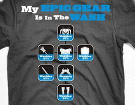 #108 para Gaming theme t-shirt design wanted – Epic Gear de WintryGrey