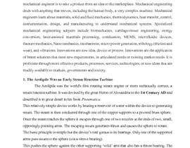 #10 for Write some Articles on Innovations in Mechanical Engineering by chinniashok7111