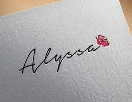 "Nro 5 kilpailuun I would like a logo designed for "" Alyssa Rose"" I was thinking a design with the name Alyssa and a rose in it some where. This is more of a brand. Please any creative ideas will be considered. käyttäjältä angelraaa123"