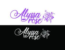 "Nro 21 kilpailuun I would like a logo designed for "" Alyssa Rose"" I was thinking a design with the name Alyssa and a rose in it some where. This is more of a brand. Please any creative ideas will be considered. käyttäjältä tanmoy4488"