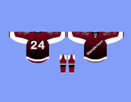 #45 for 3rd Hockey Jersey Design by ubaid92