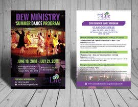 #86 for Summer Dance Program Flyer by biswajitgiri