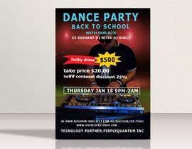 #19 for flyer design for a dance party -- 2 by Babluislambd