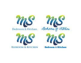 #16 para MS Bedroom Kitchen - Logo, profile and cover photo for Facebook and Twitter por sirikbanget123