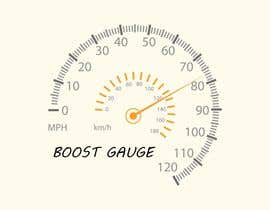 "#17 for LOGO Inspired of a ""boost gauge"" af Iacoco"