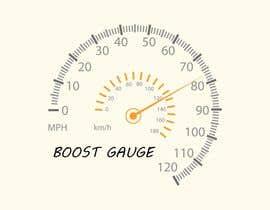 "#17 untuk LOGO Inspired of a ""boost gauge"" oleh Iacoco"