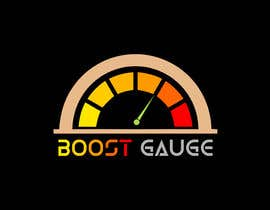 """#6 untuk LOGO Inspired of a """"boost gauge"""" oleh arman016"""