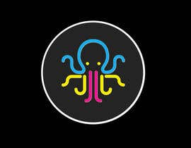 #12 , Design a symbol of an octopus based on this symbol. 来自 rakeshpatel340