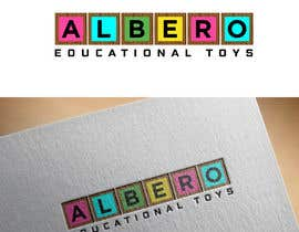 #57 para Design a Logo - Albero Educational Toys de mdrozen21