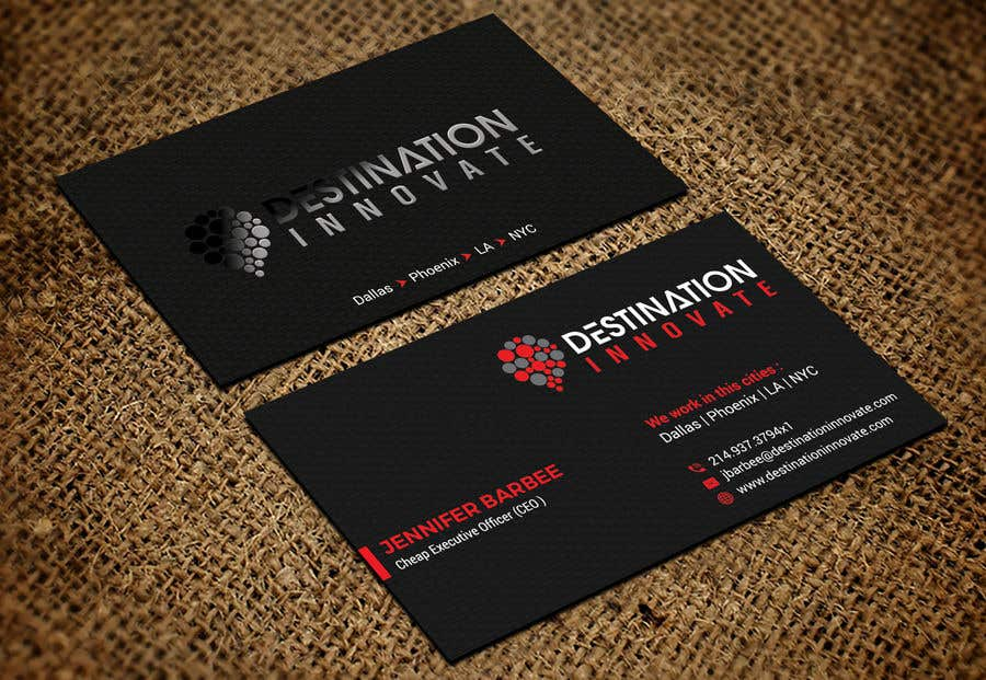 contest entry 307 for need an amazing business card design - Amazing Business Cards