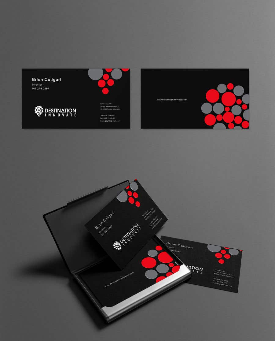 Entry #78 by DEZIGNWAY for Need an amazing business card design ...