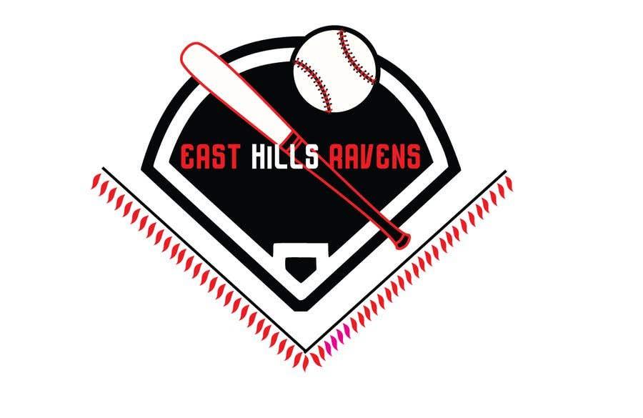 Kilpailutyö #5 kilpailussa East Hills Baseball Club Logo