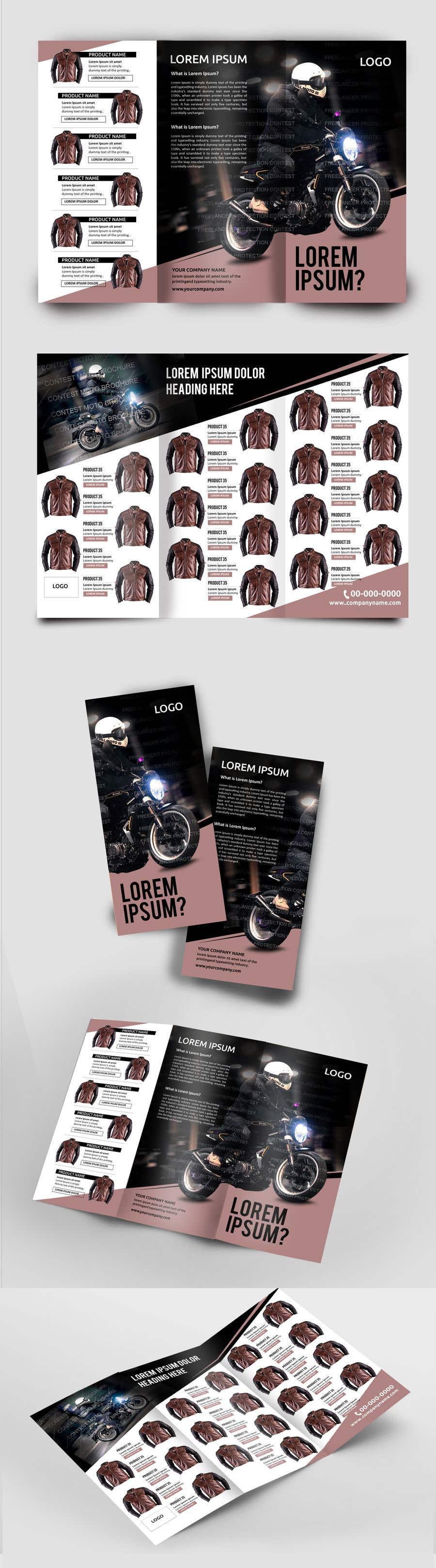 Penyertaan Peraduan #33 untuk motorbike clothing catalog