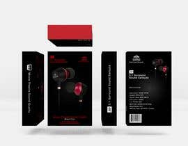 #23 for Create Clean Design For In Ear Headphones Packaging (Think Apple/Bose) af kalolleroMarroon