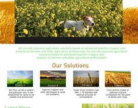 #71 para One page Brochure Site Design por sv3tli0