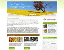#31 para One page Brochure Site Design por hardwebdesign