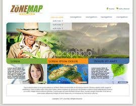 #58 для One page Brochure Site Design от iMacAxle