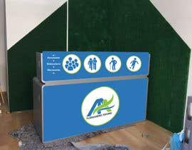 #4 for Graphic for studio reception desk by manasgrg