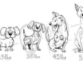 #14 untuk Dog Illustrations oleh ecomoglio