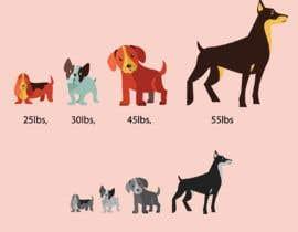 #13 untuk Dog Illustrations oleh makwanajasmin
