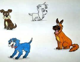 #20 untuk Dog Illustrations oleh Aditisaini1181