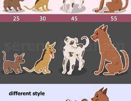 #18 untuk Dog Illustrations oleh serenaabraham
