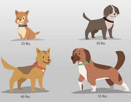 #22 untuk Dog Illustrations oleh nghivo9490