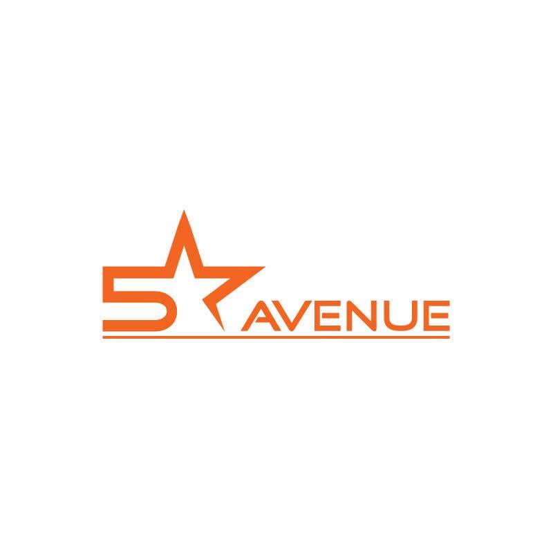 entry 116 by sidratariq1993 for five star avenue logo design