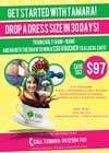 Graphic Design Entri Peraduan #12 for Flyer for PT Drop A Dress Size