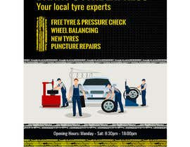 #14 for Design a Tyre Company Leaflet by darbarg
