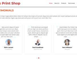 #16 สำหรับ Build a website for a print shop โดย AdityaV9