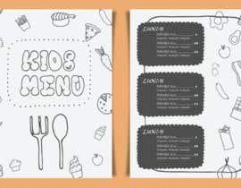 #11 for Kids Menu Design Templates af LaGogga