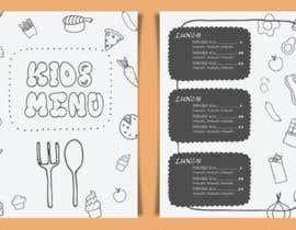 #11 for Kids Menu Design Templates by LaGogga
