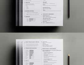 #25 for Improve Design (UX/UI) of CV ( Curriculum Vitae) in finance sektor by smileless33