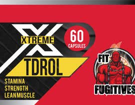 #11 for Create Label Theme for Bodybuilding Supplement Company by rieadhasan11