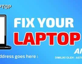 Nro 9 kilpailuun Laptop Repair And Services Signage Design Contest käyttäjältä mahabub14