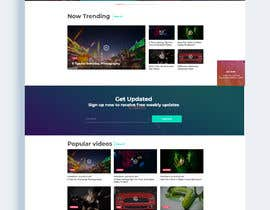 """#16 for build website similar to Netflix look and feel with our content """"starts immediately"""" by FirstCreative"""