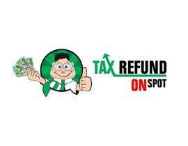 #117 untuk Logo Design for Tax Refund On Spot oleh ImArtist