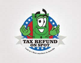 #119 untuk Logo Design for Tax Refund On Spot oleh numizan