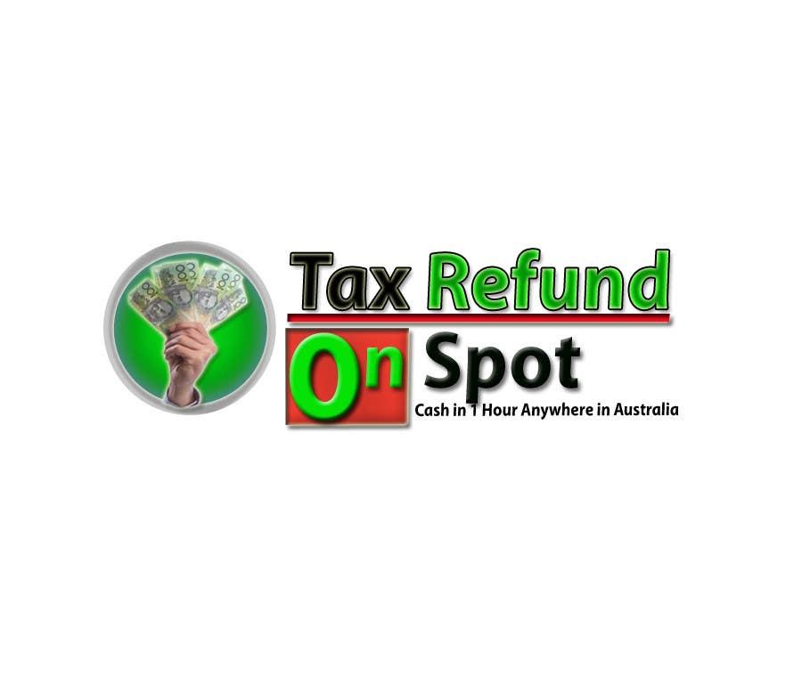 Bài tham dự cuộc thi #95 cho Logo Design for Tax Refund On Spot