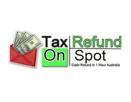#27 para Logo Design for Tax Refund On Spot por xtremeprovider