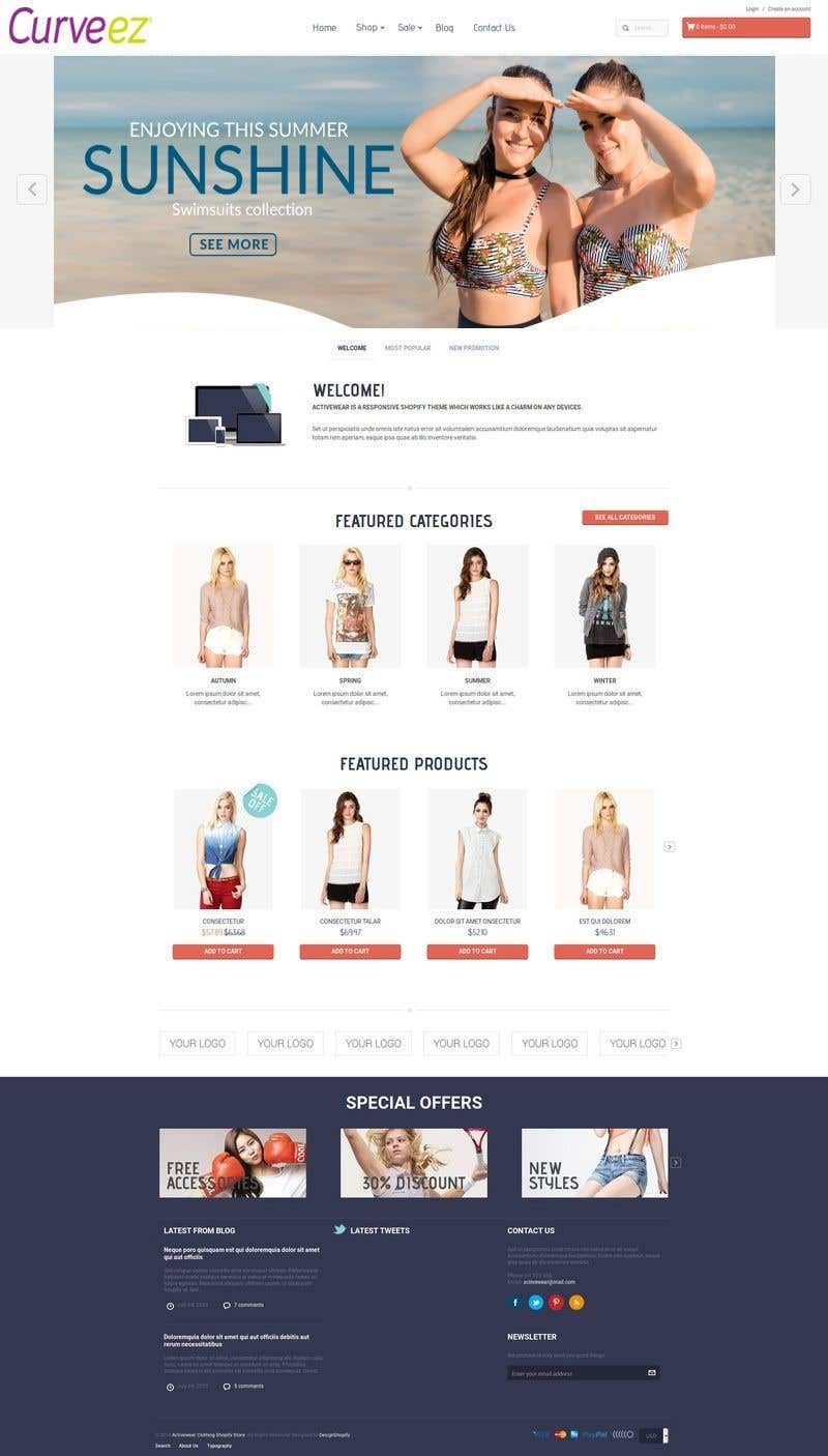 Entry #28 by SolutionsSP for Shopify Ecommerce | Freelancer