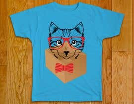 #54 for Draw A Cute Cat T-Shirt Design by mourysadia