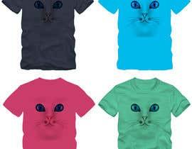 #59 untuk Draw A Cute Cat T-Shirt Design oleh mahediafruz