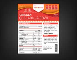 #37 for Design a Food Label for a Meal Prep Company by ARTworker00