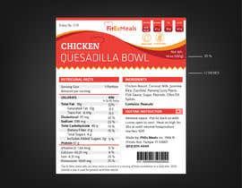 #38 for Design a Food Label for a Meal Prep Company af ARTworker00