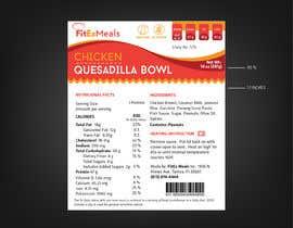 #40 for Design a Food Label for a Meal Prep Company af ARTworker00