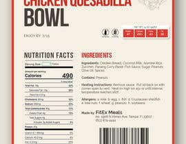 #9 for Design a Food Label for a Meal Prep Company by akidmurad